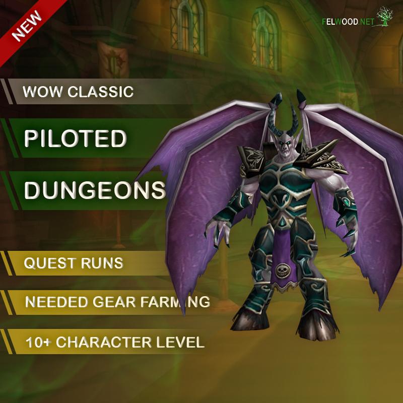 Piloted Dungeons Runs