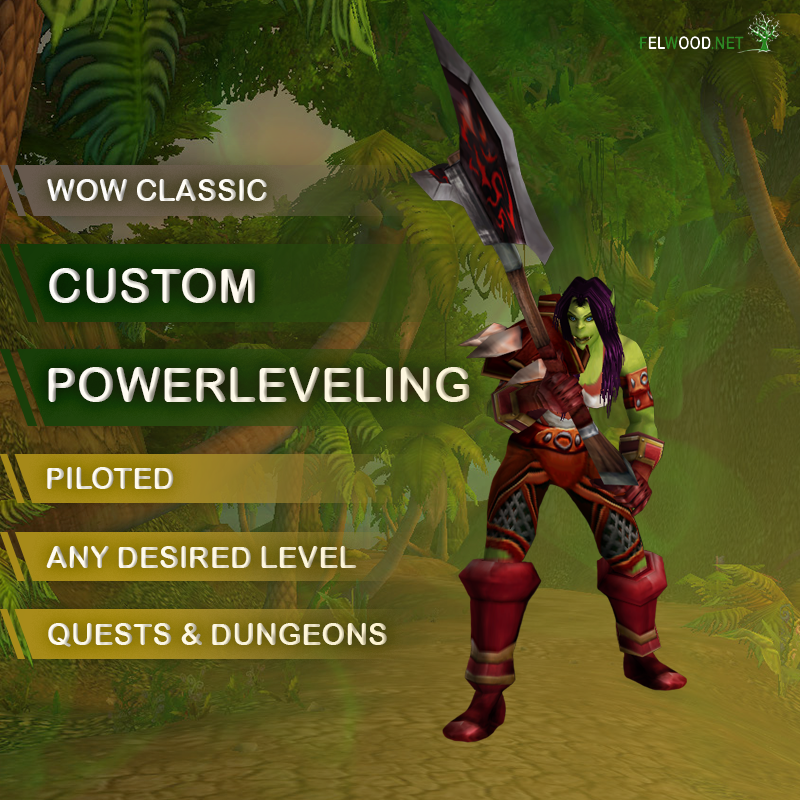 Custom Piloted Powerleveling
