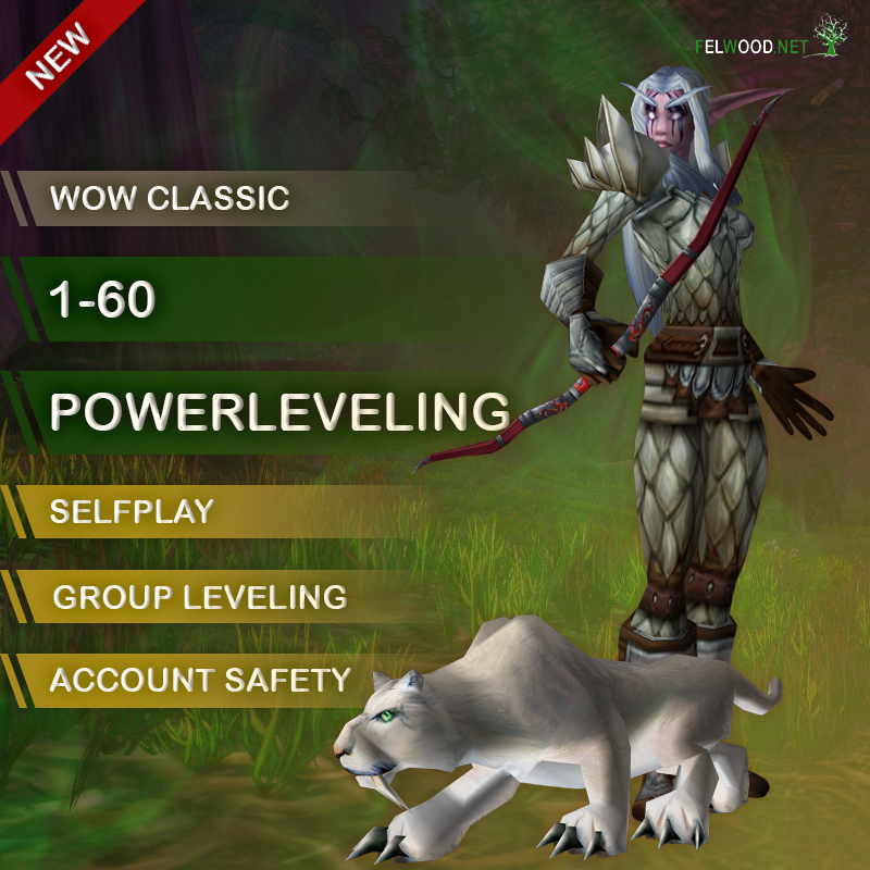 1-60 Selfplay Powerleveling