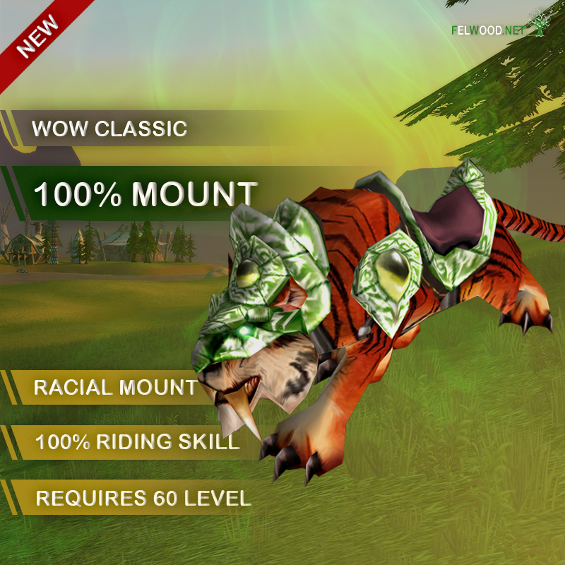 100% mount