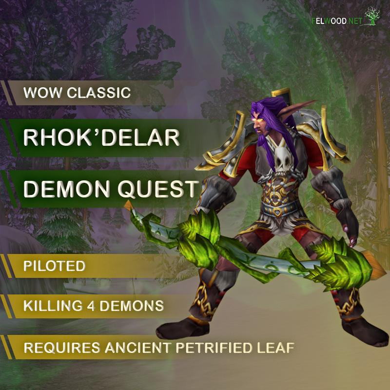 Hunter Rhok'delar Demons Quest