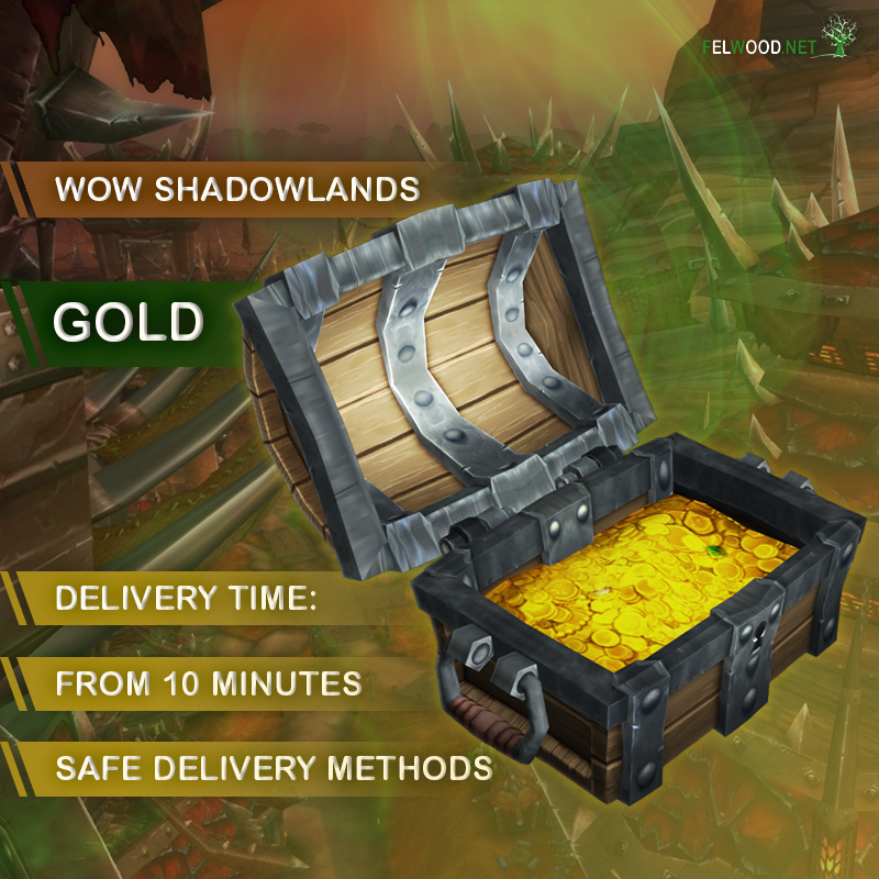 Gold WoW Shadowlands