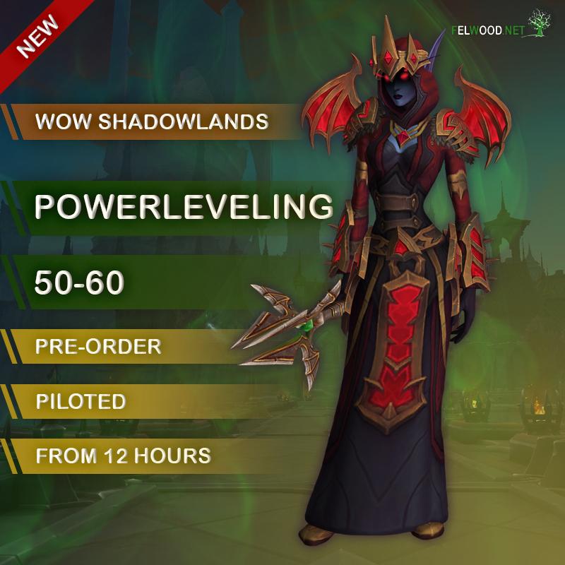 Shadowlands 50-60 Leveling