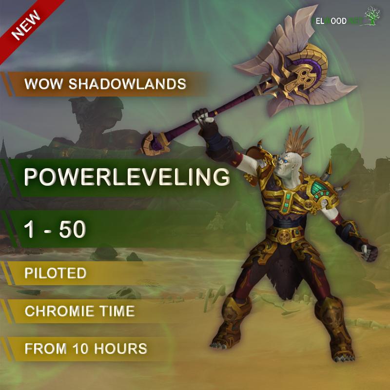 Shadowlands 1-50 Leveling
