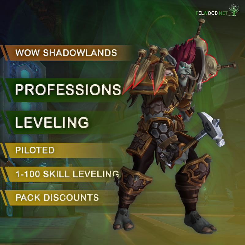 Shadowlands Professions