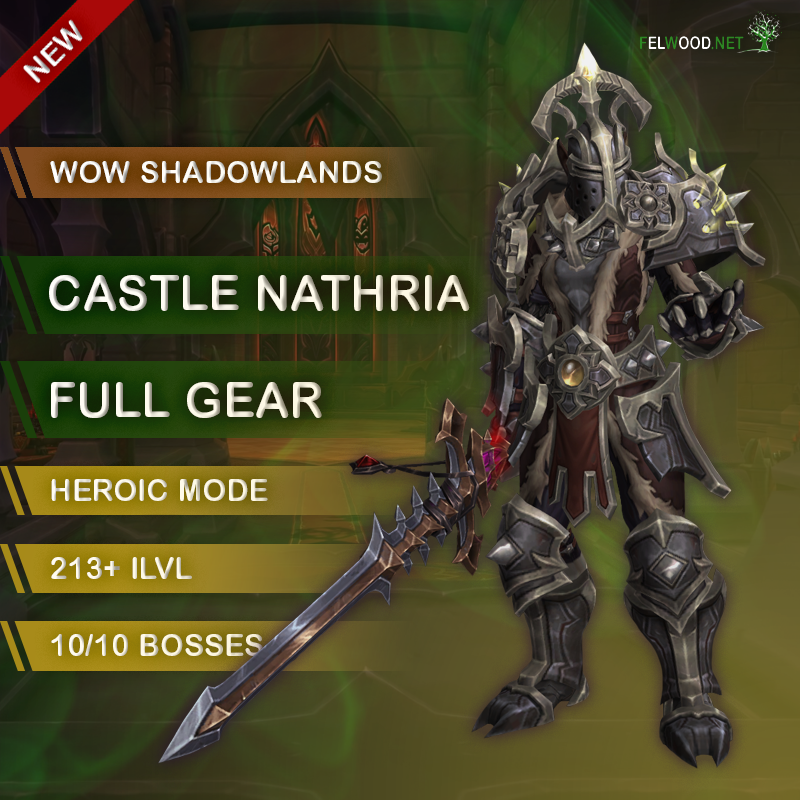 Castle Nathria Heroic Full Gear